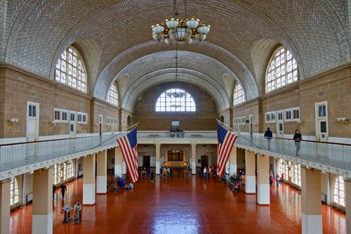 Hall du musée d'Ellis Island