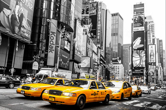 prendre taxi new york