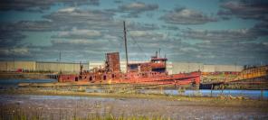 Découvrez le cimetière de bateaux de New York