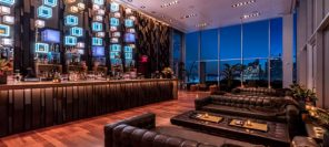 « The press lounge », un des plus beaux rooftop de New York