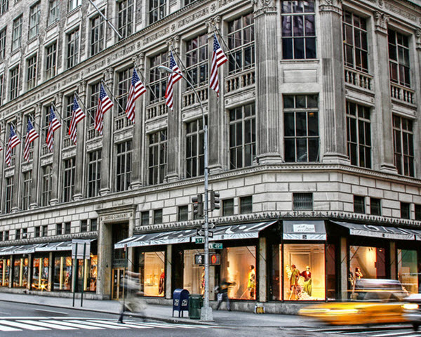 saks, new york