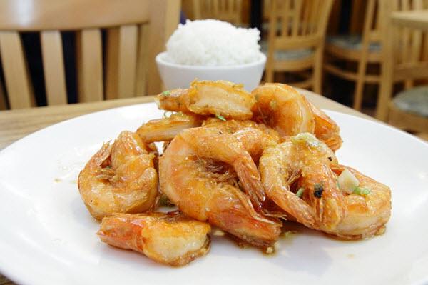 un repas a chinatown