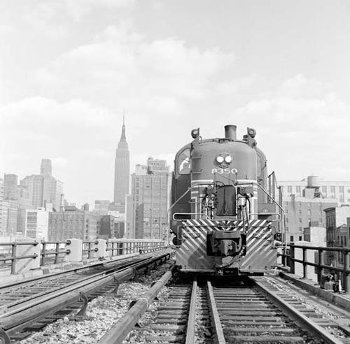 Train sur la High Line