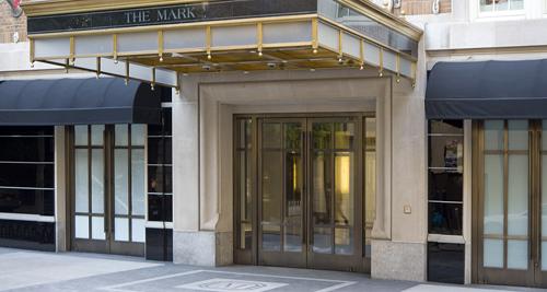 Entrée du palace The Mark