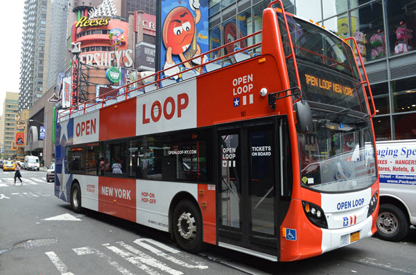 bus Open Loop New-York