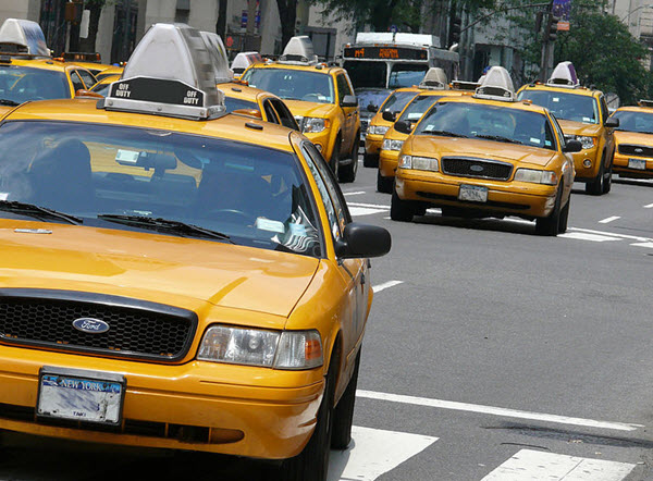 Les taxis officiels de New-York