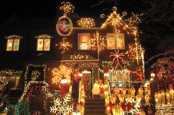 Dyker Heights à Noël