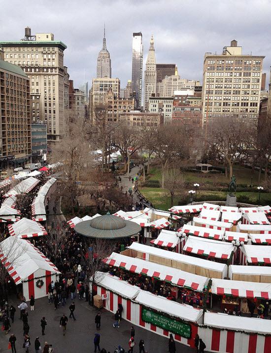 Union Square Park marché de noel