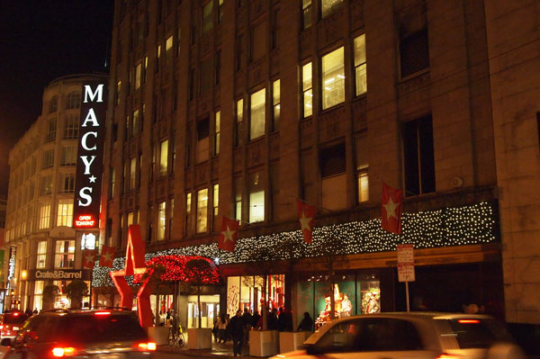 Les illuminations de Macy's