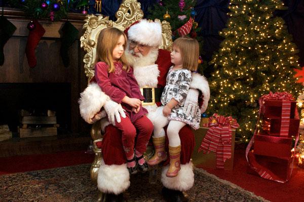 Le Père Noël chez Macy's
