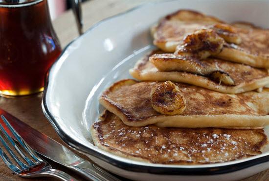pancakes banane Bubbys