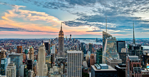 vue new york nuage