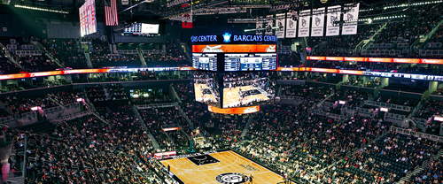 inérieur barclays center