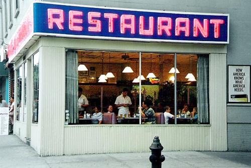 Le restaurant de Seinfeld