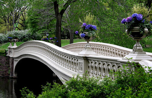 Bow Bridge à Central Park